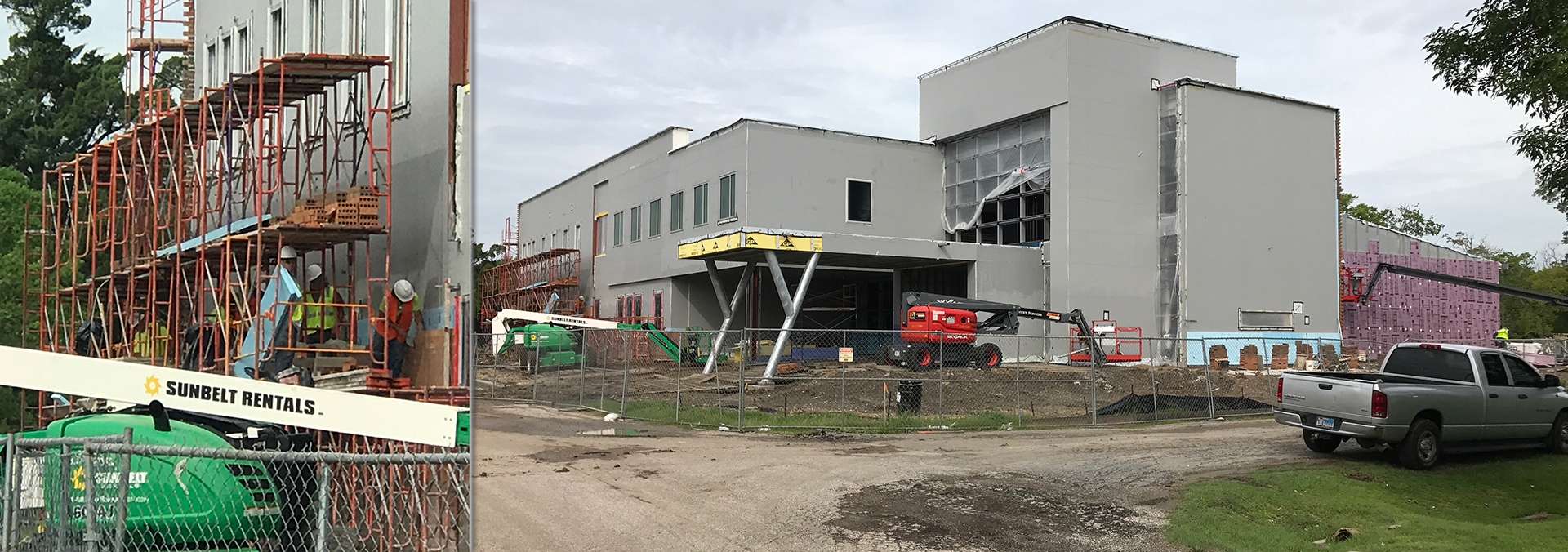 Industrial Technology Center construction making strides