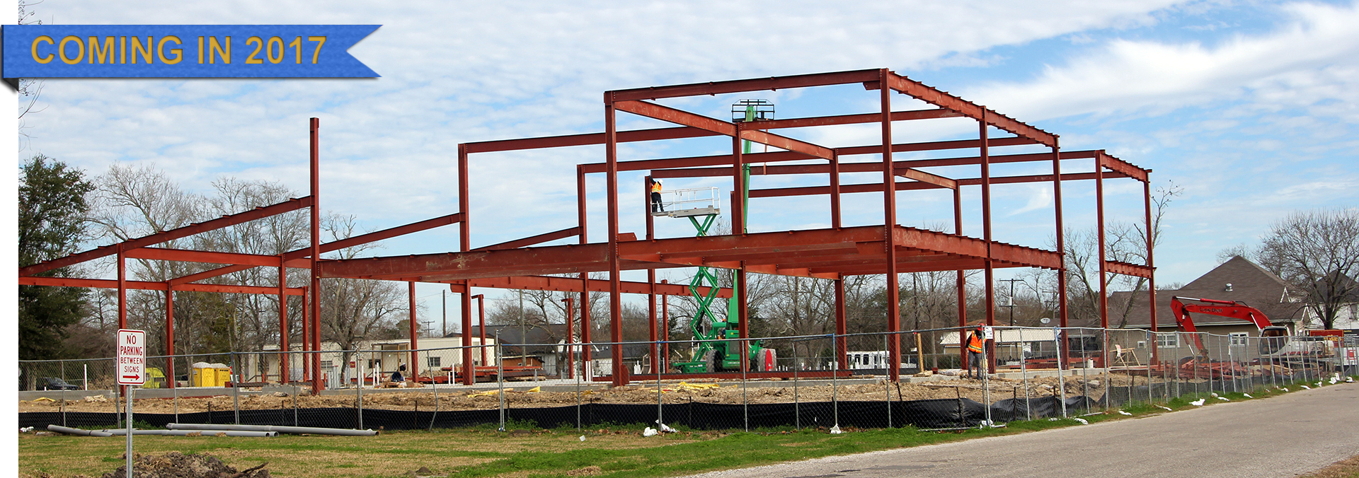 New Industrial Technology Center construction underway