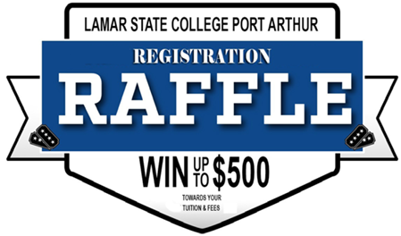 Registration Raffle. Win up to $500 Towards Your Tuition and Fees