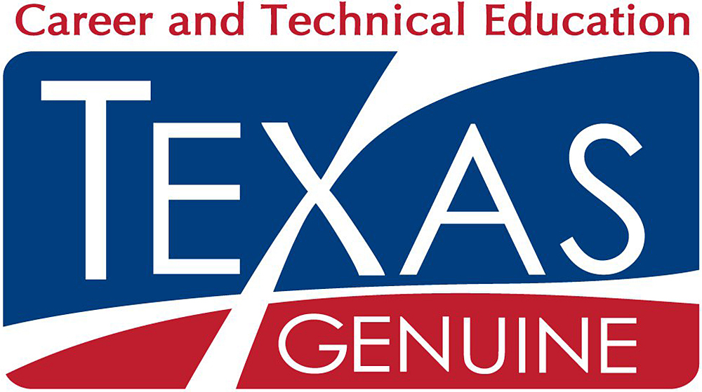 Texas Genuine Career and Technical Education Logo